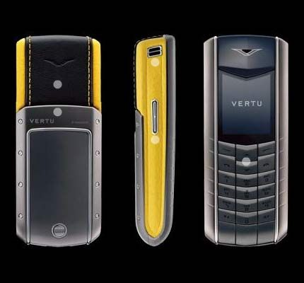 Vertu Accent $4000 Luxury Mobile Phone