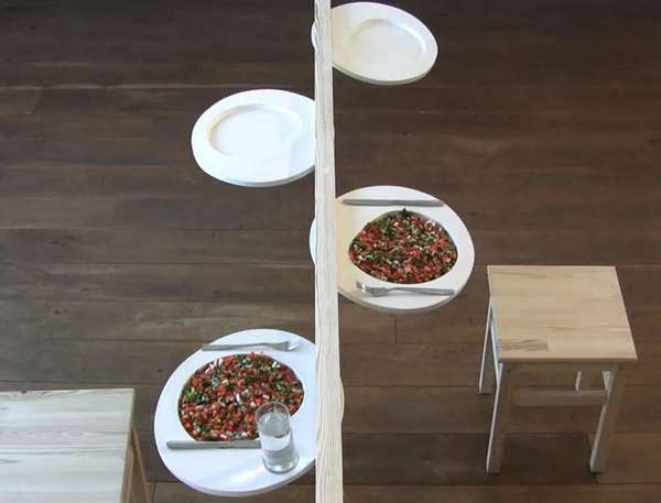 Barely-There Dinner Tables