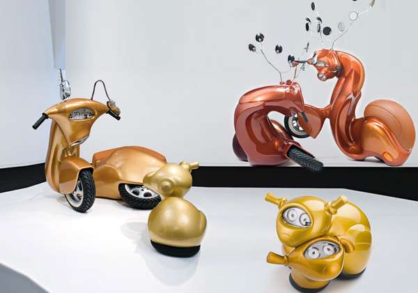 Vespas by Patricia Piccinini
