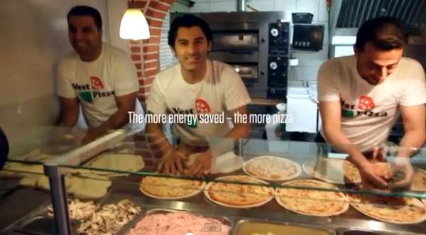 Energy-Efficient Pizzerias