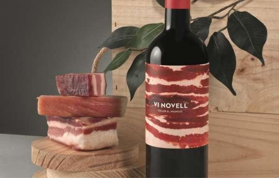 Bacon-Branded Vino