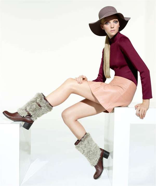 Twiggy-Inspired Winterwear