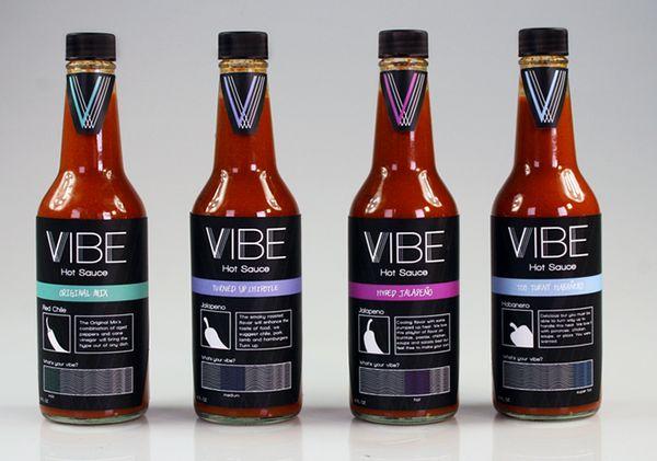 Vibrant Hot Sauce Branding