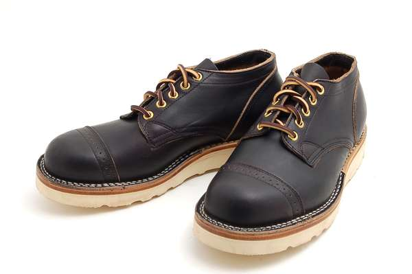 Viberg Brogue Toe Boots