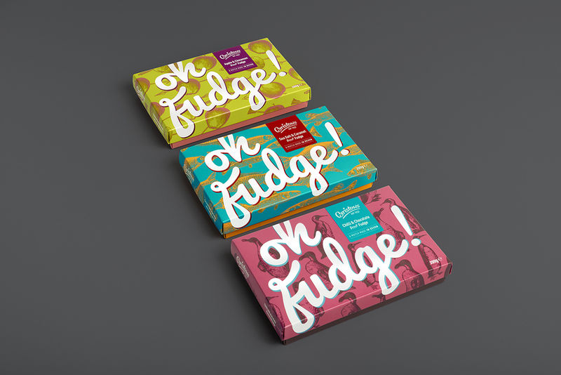 Punchy Chocolate Packaging