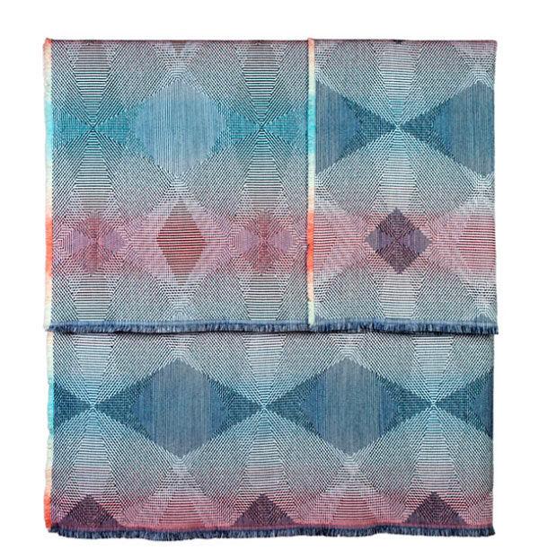 Vibrant Geometric Textiles