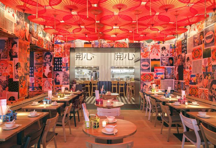 Artwork-Adorned Restaurants