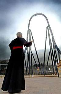 Vicar Blessed Rollercoaster
