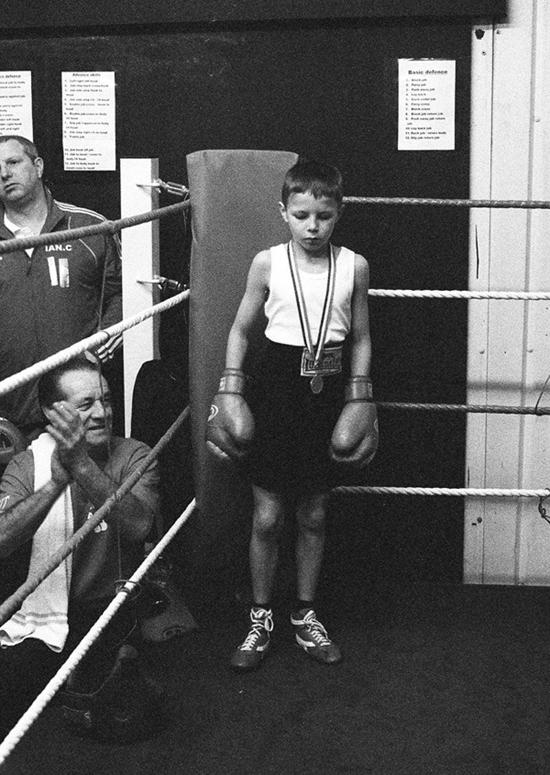 Child Boxer Captures