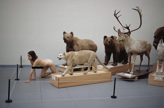 Nude Museum Portraits