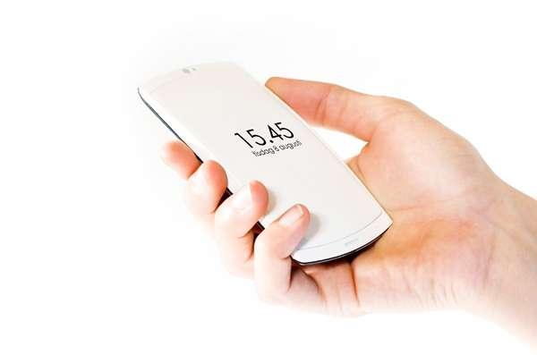Backside Smartphone Displays