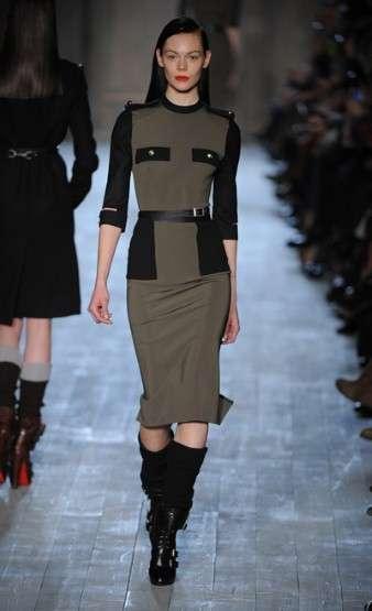 Militaristic Body-Con Dresses