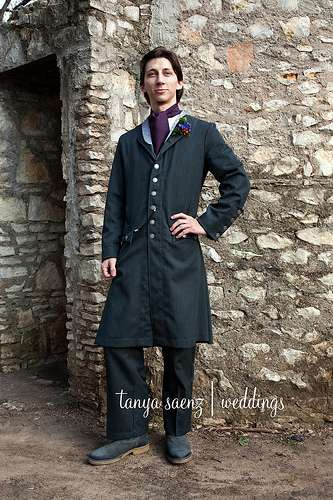 Victorian Groom Gear