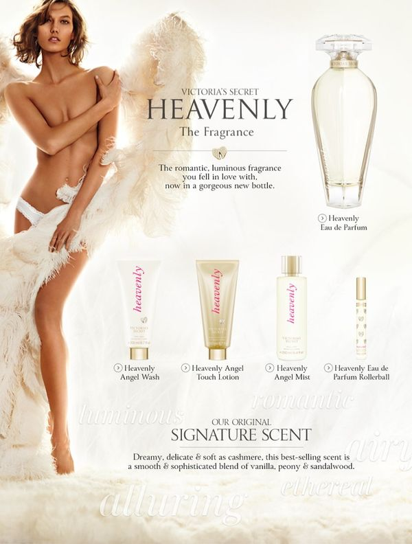 Divinely Winged Lingerie Ads