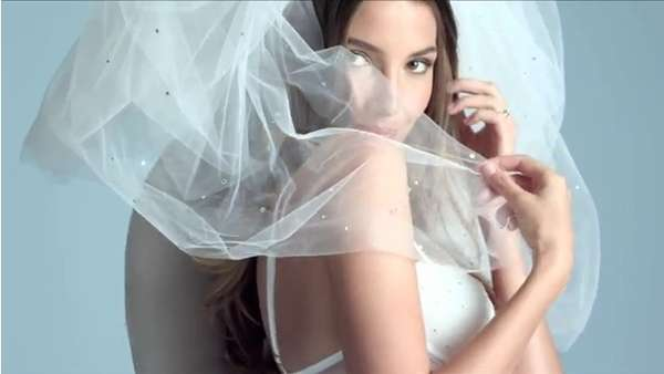 Sultry Wedding Lingerie Ads