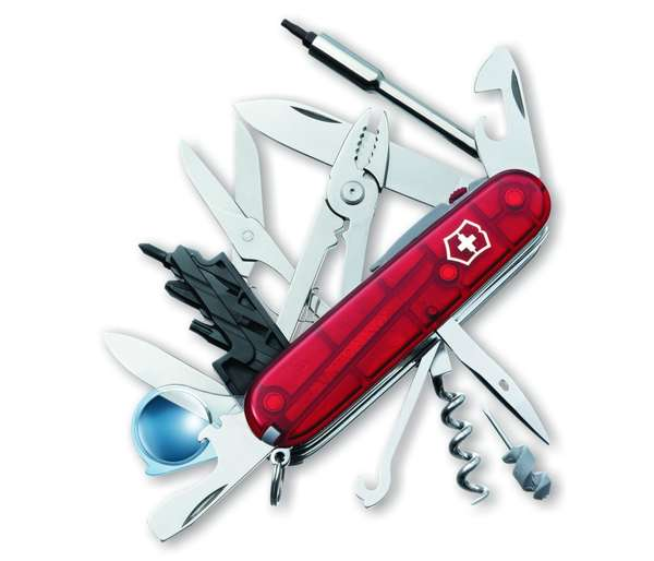Realistically Useful Pocket Tools Victorinox Cybertool Lite