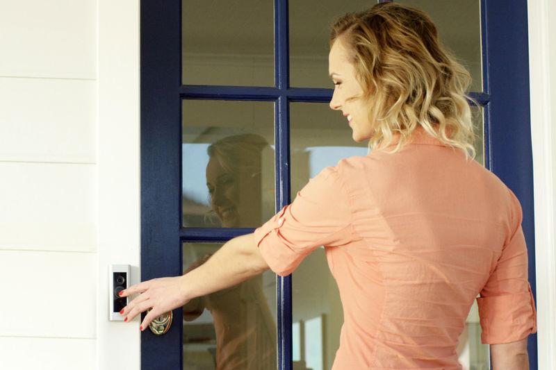Cloud-Connected Video Doorbells