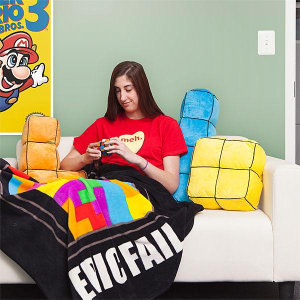 Giant Tetris Pillows