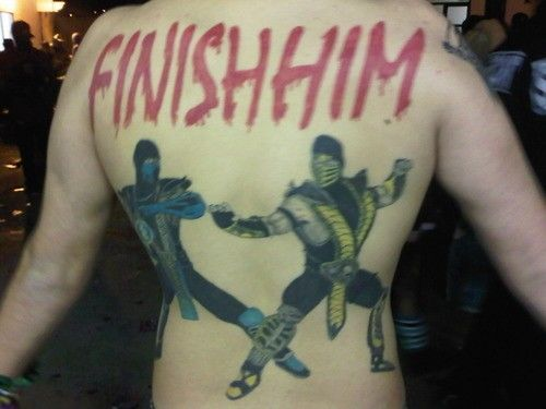Photos of Video Game Tattoos (Via: asylum, crunched.org)