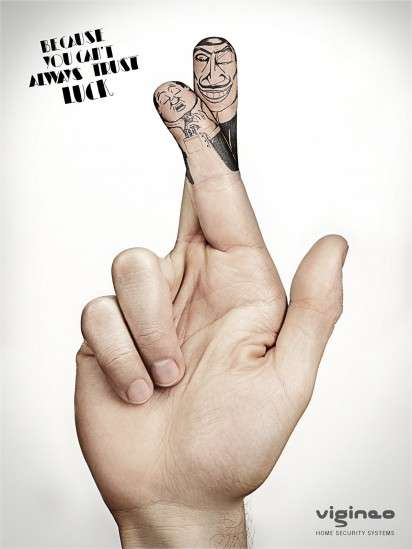 Finger Crossed Ads