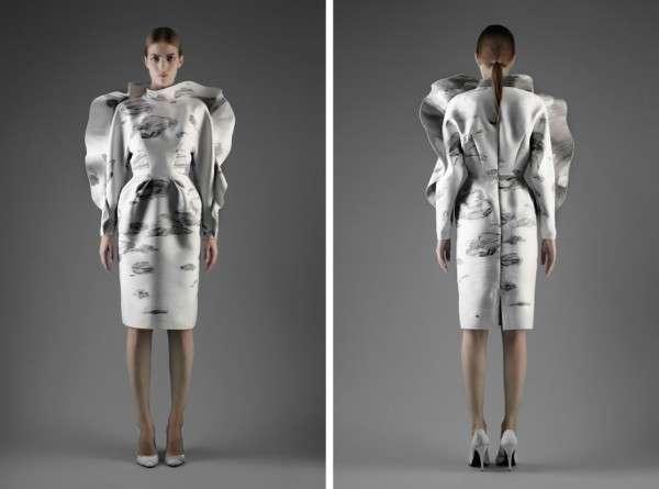 Exaggerated Voluminous Fashion