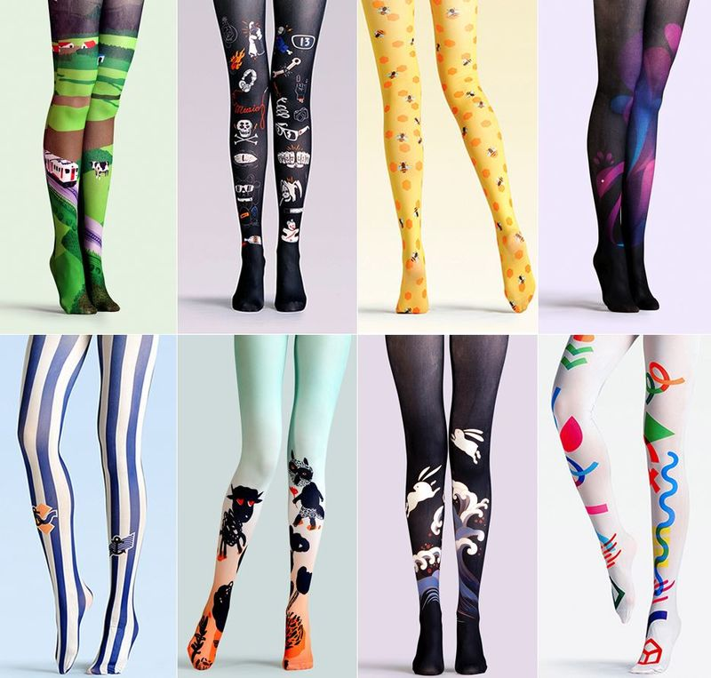 Quirky Colorful Tights