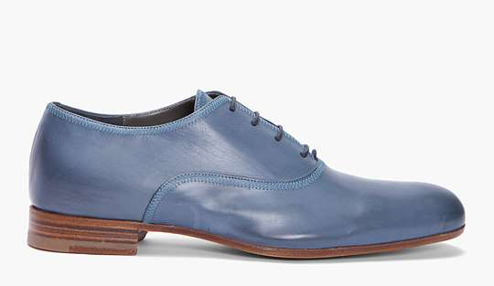 Steel Blue Dress Shoes