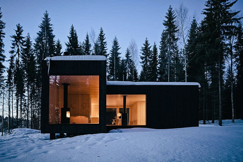 Cross-Shaped Abodes