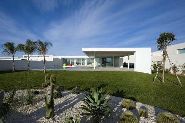 Minimalist Mediterranean Mansions