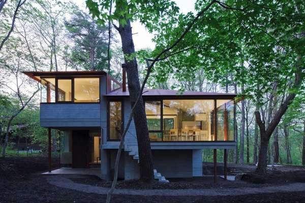 Classy Glass Cabins