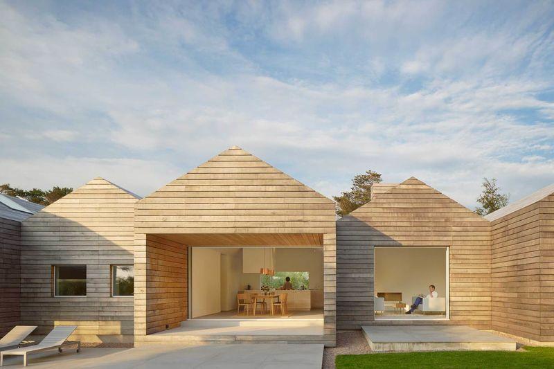 Quaint Wood-Clad Villas
