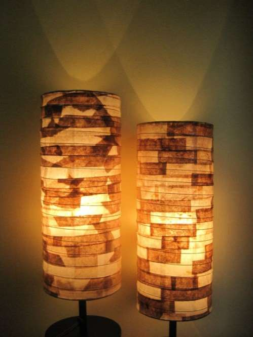 Coffee Filter Lampshades
