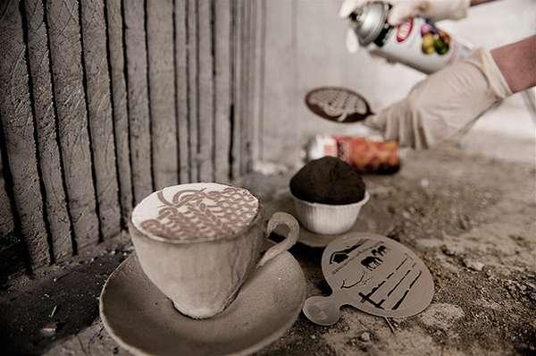 Cappuccino Stencils