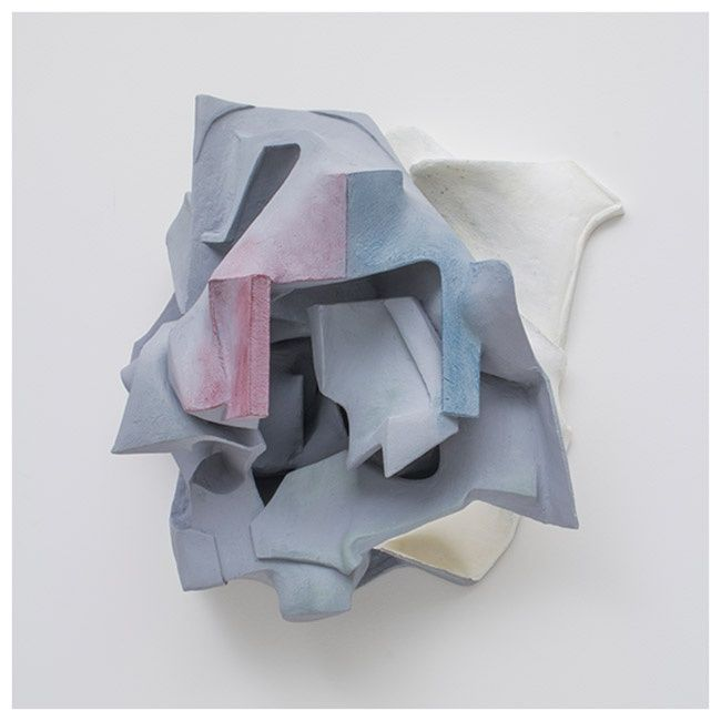 Crinkled Canvas Sculptures
