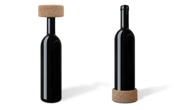 Bifunctional Bottle Stoppers