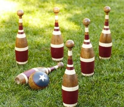 Rustic Lawn Sport Sets