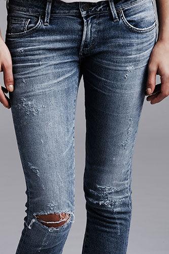 Faux Vintage Jeans