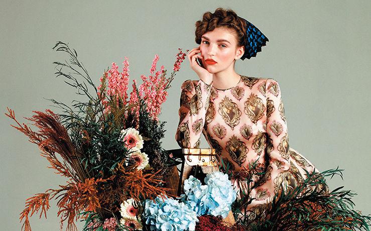 Vintage Floral Fashions
