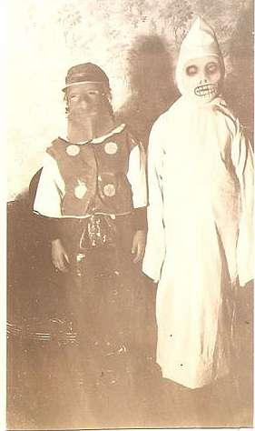 Vintage Halloween Shots