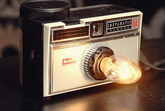 Vintage Instamatic Camera Nightlight