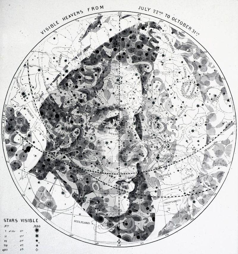 Illustrative Topographic Portraits