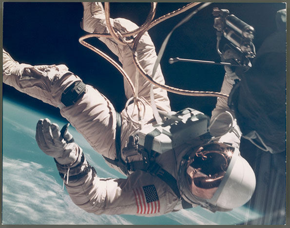Vintage Space Travel Photography