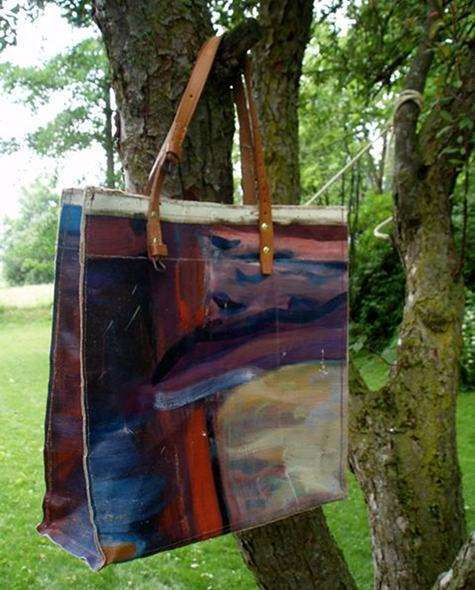 Vintage Painting Bags by Swarm