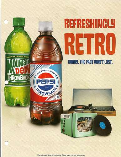 Vintage Pop Can Ads
