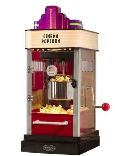Vintage Theater Popcorn Machines