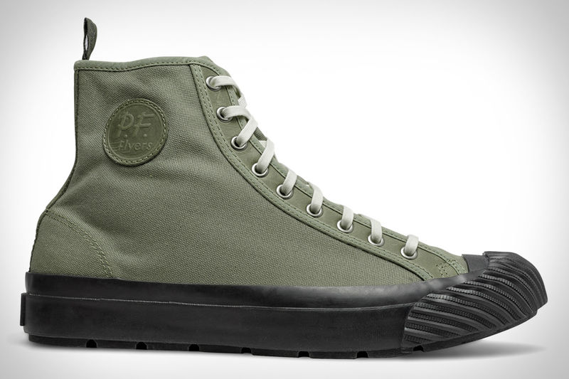 Military-Inspired High-Tops