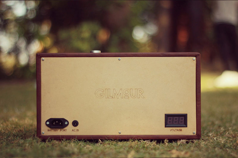Vintage Faux Leather Speakers