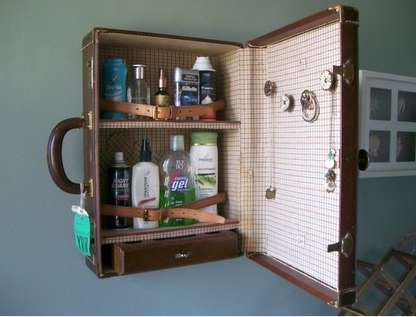 Vintage Suitcase Vanities