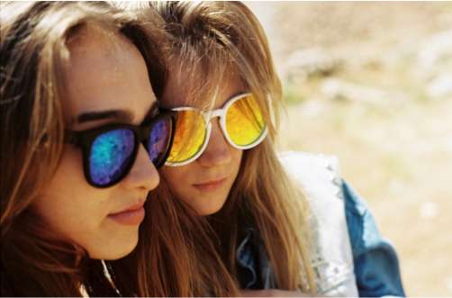 Reflective Neon Sunglasses