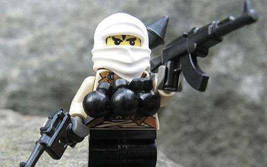 Offensive LEGO Figures